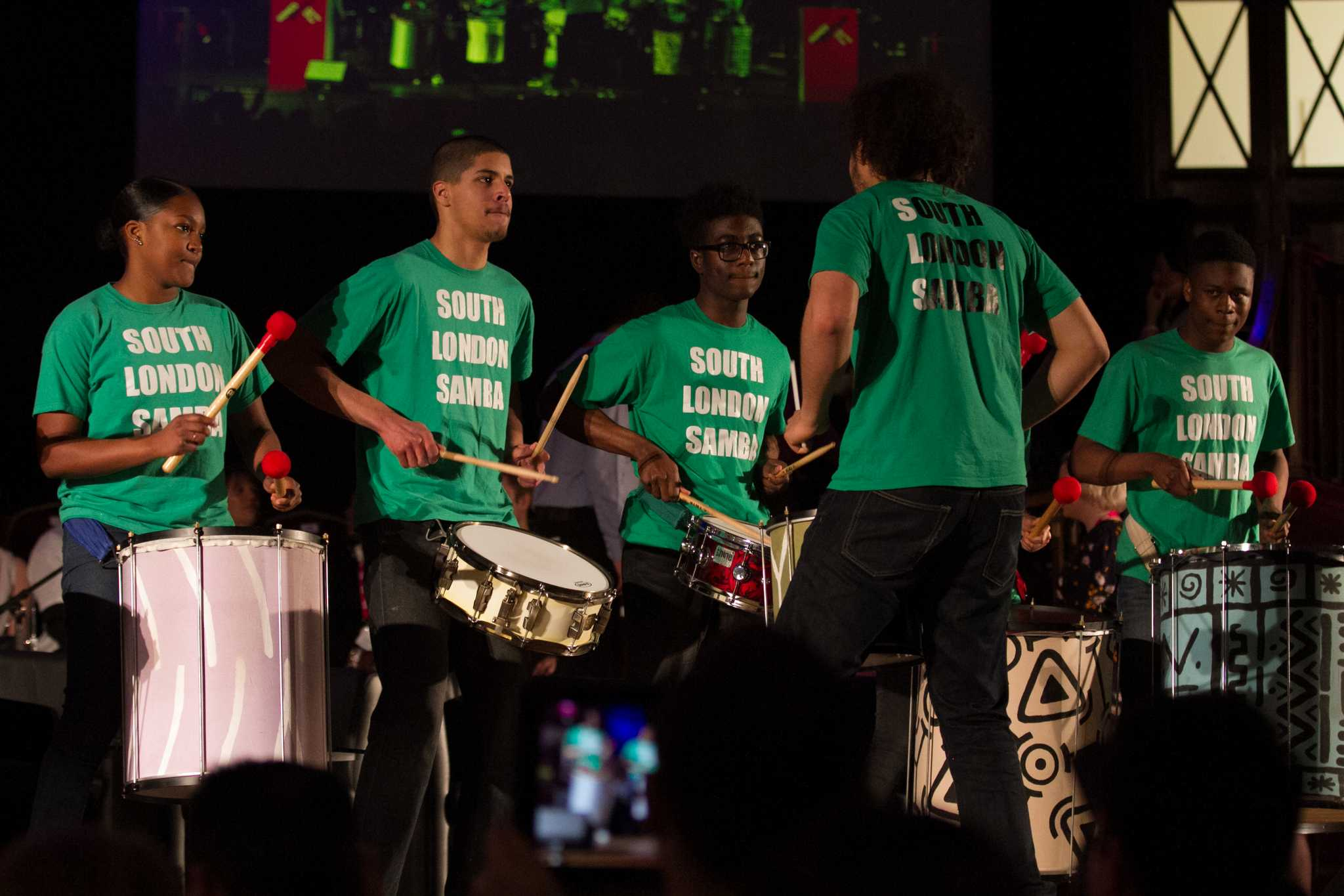 The South London Samba band