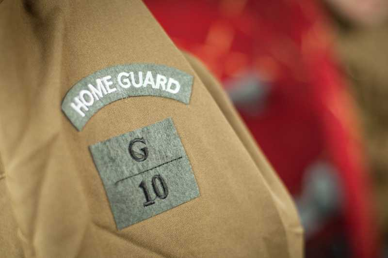 A home guard uniform